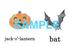 Halloween 絵+英単語 フラッシュカードデータ(カラー)