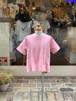 KIDS:NEEDLEWORKS【ニードルワークス】Flare embroidery T-shirt(ピンク/90〜150cm)フレアTシャツ