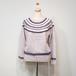 *printed knit * gray