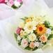 【プリザーブドフラワー】イエロー・オレンジの花束