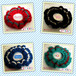 Simple and cute cotton knitted scrunchie