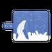【手帳型Androidケース】ザトウクジラの見る夢