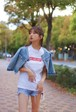 #F_ME_NOT Tシャツ【レッド】