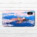 #052-003 iPhoneケース スマホケース 《春うらら》 作:もなか iPhoneX 可愛い ファンタジー おしゃれ かわいい Xperia iPhone5/6/6s/7/8 ARROWS AQUOS