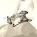 ゴシェナイト(ベリル)原石のリング SVR15