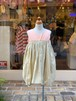 KIDS:frankygrow【フランキーグロウ】/V-NECK DRESS DYED:PINK-BEIGE(S/90,M/110,L/130cm)ワンピース
