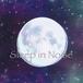 ステッカー(宇宙に月)