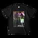 両面プリント(ブラック ver.2)オリジナルキャラクターTシャツ