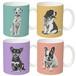 オリジナルオーダーメイドマグカップ作成・犬猫、ペットの名入れ&似顔絵/リアルタッチポップアート
