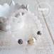【NOSTALGIE Pink】パワーストーン ブレスレット レディース 天然石 ローズクォーツ クラック水晶[送料無料]