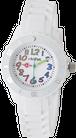 [キッズ腕時計]カラフルインデックス ホワイト CAC-62-M11