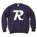 R-logo / スウェット(White/Navy)【送料無料】【Shop限定】