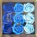 フラワーフレグランスローズ ブルーカラー(入浴剤)