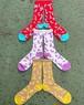 CREEM MILK TEE socks