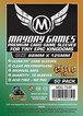 (88x125mm) Mayday カードスリーブ 「Tiny Epic Kingdoms」サイズ(プレミアムタイプ)  MDG-7148