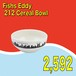 Fishs Eddy / 212 Cereal Bowl