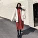 【ワンピース】長袖シンプルファッション通勤/OLプラスサイズAラインプルオーバーカジュアルワンピース23612779