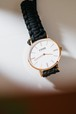 LUND WATCHES (BLACK / ROSE GOLD 39mm )