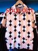 S/Sプルオーバーシャツ ARGYLE ライトピンク Star OF HOLLYWOOD