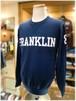 【FRANKLIN&MARSHALL】  フランクリンマーシャル  - Italy -     コットン プルオーバーニット