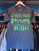 S/STシャツ KISS ME I'M PRETENDING TO BE IRISH