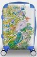 【白雲友子・神恩Gratitude絵柄スーツケース】中(M)size: Suitcase with the divine paintings of Shirakumo Tomoko