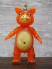 【イヌクマ製復刻版】快獣ブースカ(クリアオレンジ) のソフビフィギュア