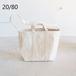 20/80/トゥエンティエイティ・キャンバス#6 2Way Tool Tote Bag
