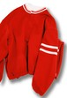 CYDERHOUSE BONDING PULLOVER 【Red】