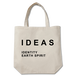 IDEAS/タイポグラフィトートバッグ 305-BE ベージュ