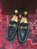 .GUCCI LEATHER HORSE BIT LOAFER MADE IN ITALY/グッチレザーホースビットローファー