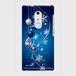 【ARROWSシリーズ】Winter Holiday Royal Blue ウィンター・ホリデー ロイヤルブルー ツヤありハード型スマホケース