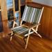 Tabi KachaKacha Mid Chair  STR.2 Forest Stripe(カチャカチャ チェア フォレスト ストライプ)