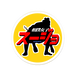オリジナルアクリルバッチ相撲編 「スージョ」(枠ありVer.)