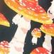 【予約】ベニテングタケのテキスタイル50cm