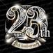 23周年PSD素材 エンブレム仕様。豪華でキラキラPhotoshop素材で周年を彩ろう!