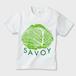 SAVOY(サボイ・キャベツ)1  キッズTシャツ 白