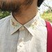 襟FLOWER Yシャツ (MEN'S L)