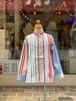 KIDS:FITH【フィス】スタンドカラーBIGロングスリーブシャツ(ホワイト/100〜120cm)スタンドカラーシャツ