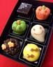 季節の上生菓子6個入り「ハロウィンボックス」|豆大福や上生菓子のお取り寄せ・桐木神楽堂
