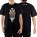 Tシャツ(毛利元就) カラー:ブラック