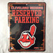 クリーブランド インディアンス Cleveland Indians パーキングプレート パーキングボード MLB メジャーリーグ RICO 2845