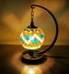 世界 スタンド型 ランプ 照明 魔法のランプ インテリア モザイク アート ライト 雑貨