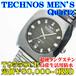 テクノス 紳士 超硬タングステン Quartz T9558CB 定価¥80,000-(税別)
