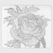 手帳型(帯なし)サイズ(L):kazue.M_017「華」はな