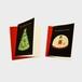 クリスマスカード2枚組