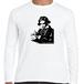 ベートーヴェン ドイツ 音楽家 歴史人物ロングTシャツ039