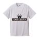 FOOT CROWN ボックスロゴ デザインTシャツ  ホワイト