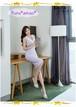 【お取り寄せ品】魅惑のバックスタイル♡ペールラベンダーワンピース