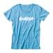 ロゴTシャツ・アルファベット|水色